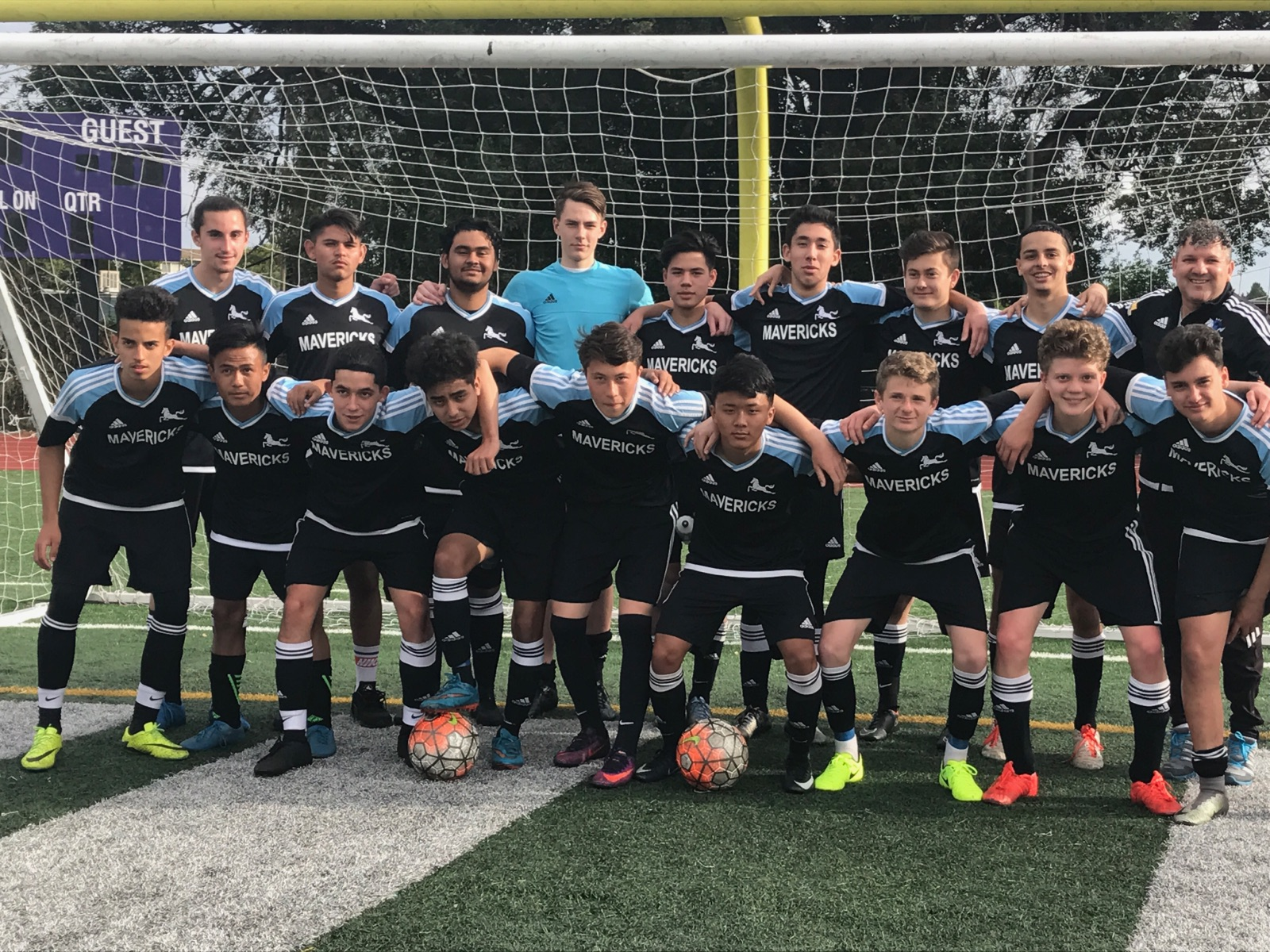 2000 Boys Black Spring League Champions